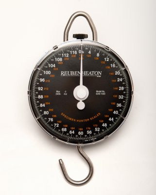 Reuben Heaton Specimen Hunter Scales