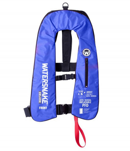 Watersnake Deluxe Auto/Manual Inflatable Life Jacket