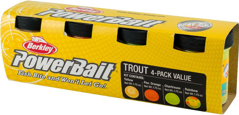 Berkley Powerbait Trout Bait Dough Assortment