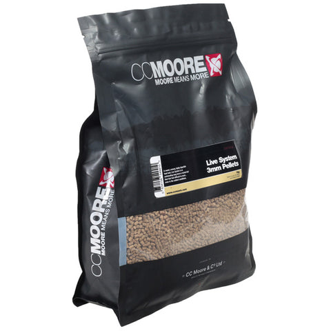 CC Moore 'Live System' Pellets 6mm