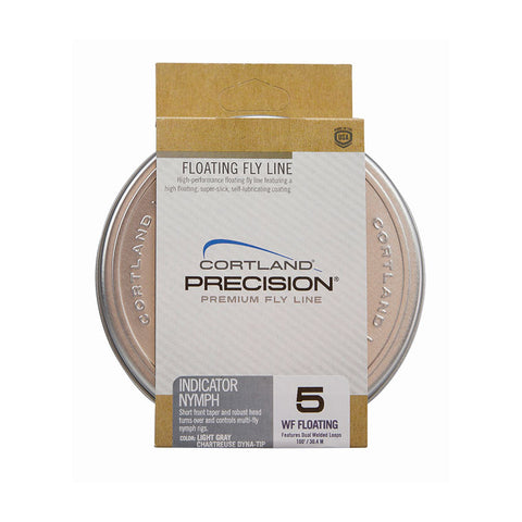 Cortland Precision Indicator Nymph Floating WF Fly Lines