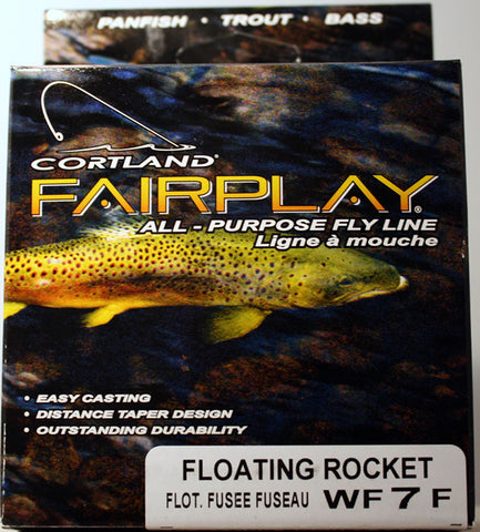 Cortland Fairplay Floating Rocket Taper Fly Lines