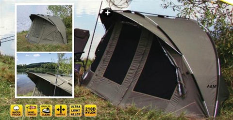 D.A.M. Mad Morpheus 1 Man Dome Bivvy With Ground Sheet