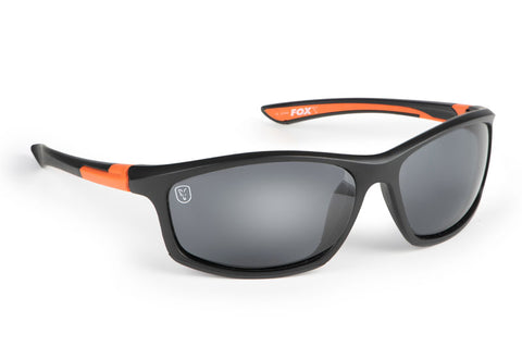 Fox Polarised Sunglasses - Black & Orange