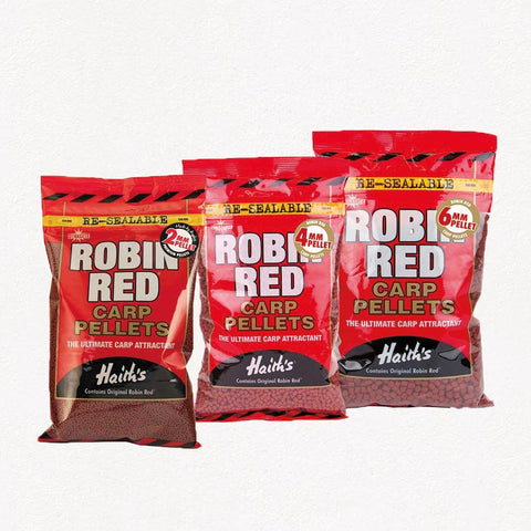 Dynamite Baits Robin Red Pre Drilled & Feed Pellets