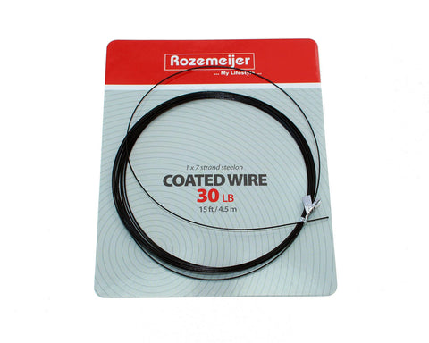 Rozemeijer Coated Wire 1×7 Strand 15ft / 4.5m