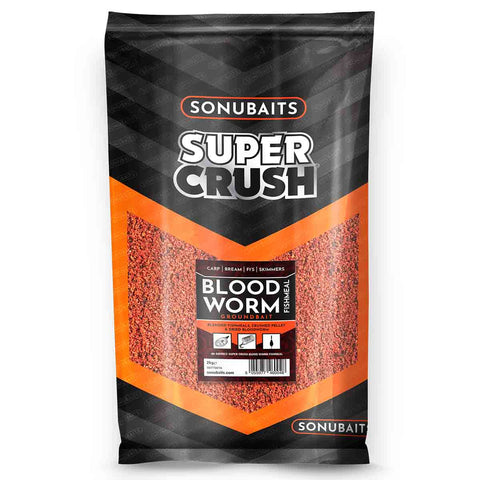 Sonubaits Super Crush Bloodworm Fishmeal Groundbait 2kg