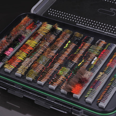 Wychwood Vuefinder Competition Fly Box - Double Slot Foam