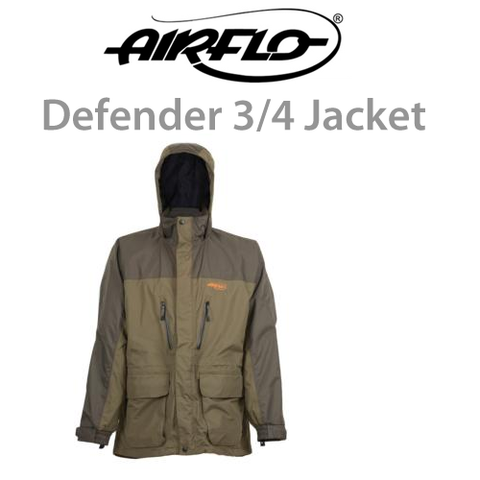 Airflo Defender 3/4 Length Waterproof Fishing Jacket