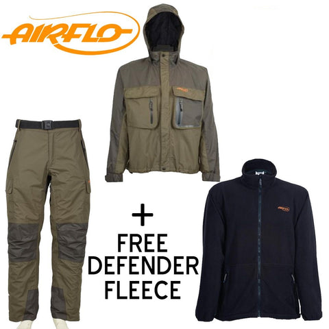 Airflo Defender Wading Combo Offer + Free Defender Fleece
