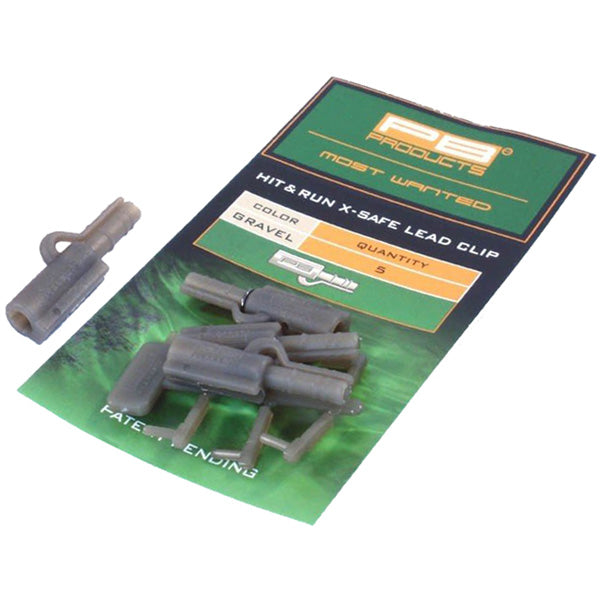 PB Products Hit & Run X-Safe Leadclips
