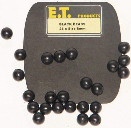 E.T. Predator Tackle Black Beads