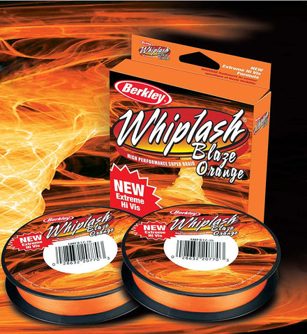 Berkley Whiplash Blaze Orange