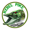 Rebel Pike Red Haggis Mackerel Deadbait