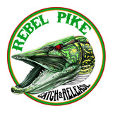 Rebel Pike Smelt Deadbait