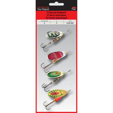 DAM Effzett Perch Spinner Assortment