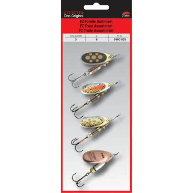 DAM Effzett Trout Spinners Assortment