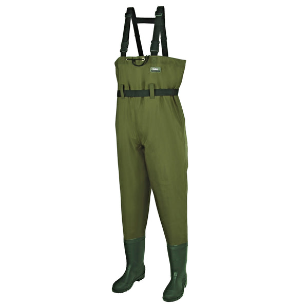 D.A.M. Hydroforce Nylon-Taslan Chest Waders