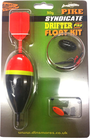Dinsmores Syndicate Drifter Pike Float Kit
