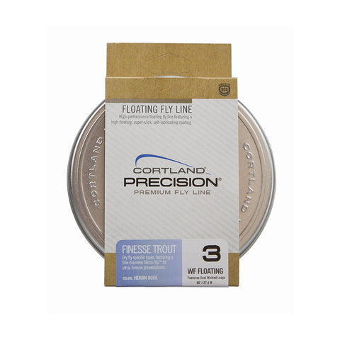Cortland Precision Finesse Trout Floating WF Fly Line
