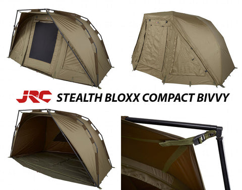 JRC Stealth Bloxx Compact Bivvy & Chair Combo