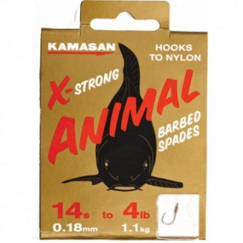 Kamasan X-Strong Animal Hooks to Nylon
