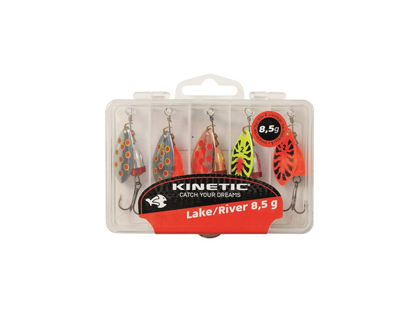 Kinetic Magni Lake/River Spinner Multipack