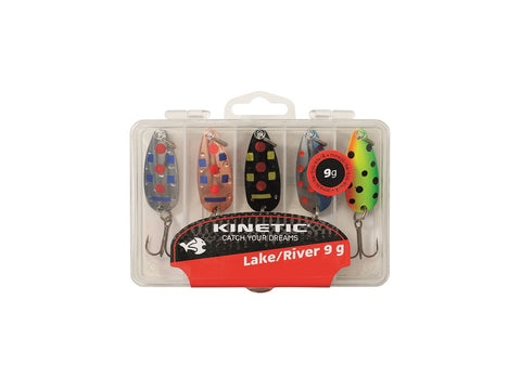 Kinetic Trout River/Lake Spinner Multipack