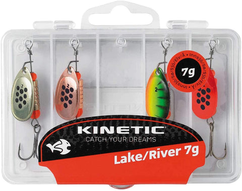 Kinetic Candy Lake/River Spinner Multipack