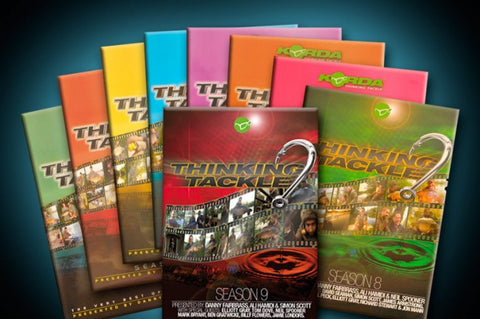 Korda Thinking Tackle DVDs
