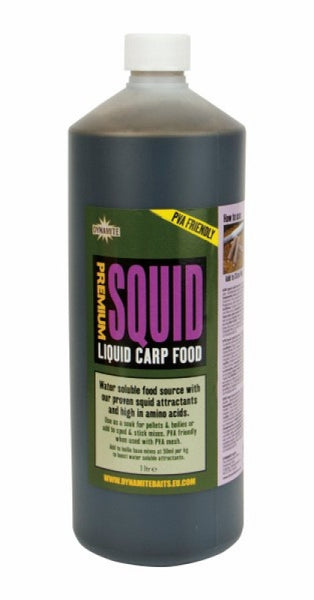 Dynamite Baits Squid Liquid Carp Food