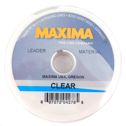 Maxima Clear Fishing Line 100m