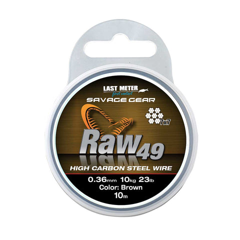 Savage Gear Raw 49 Carbon Wire