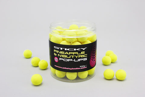 Sticky Baits Pineapple & N'Butyric Pop-Ups