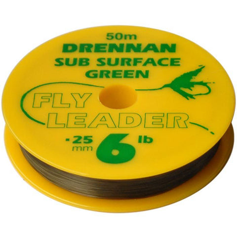 Drennan Sub Surface Green Tippet
