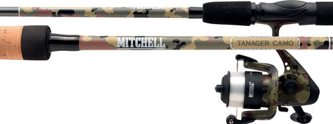 Mitchell® Tanager Camo Spinning Combo 9ft