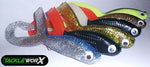 Tackle-Worx Twin Freak Soft Plastic Pike Lure