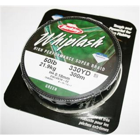Berkley Whiplash Green Super Braid