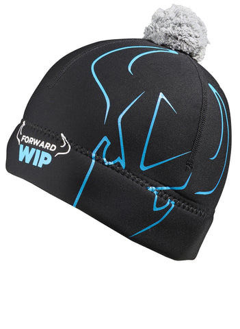 Forward WIP Neoprene Beanie Hat - Black / Blue - Buy Now!