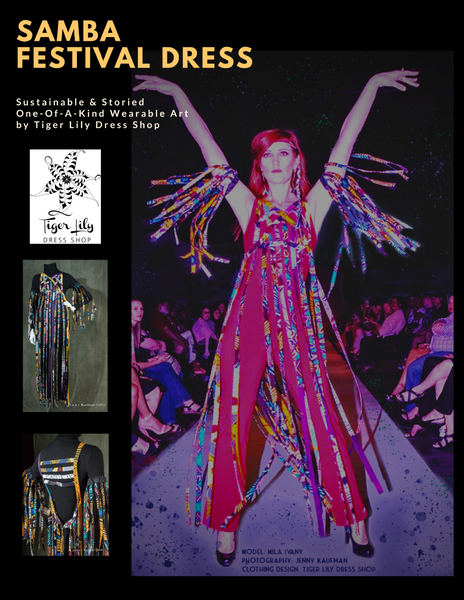 The Story of Samba the Festival Dress