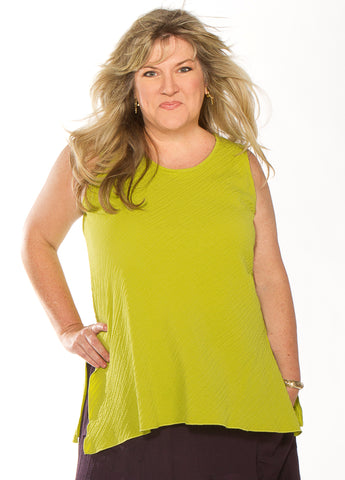 Sleeveless Tunic/Lime