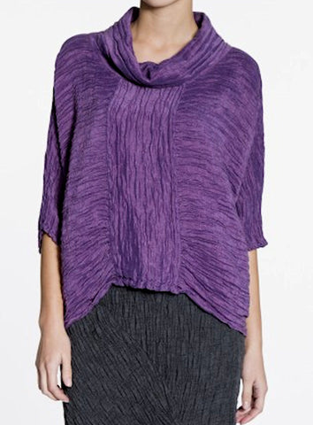 Purple Batwing Top