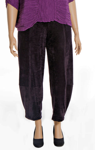 Royal Purple Velvet Pants