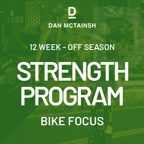 12 week Off Season Strength Program (Bike Focus)