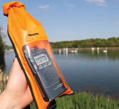 Aquapac 214 Stormproof VHF Case – Orange