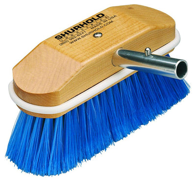 "Shurhold 8"" Side Attached Brush – 310 – extra soft blue, nylon"