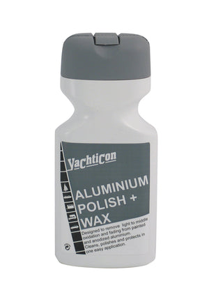 Yachticon Aluminium Polish & Wax 500ml – polishes and protects aluminium