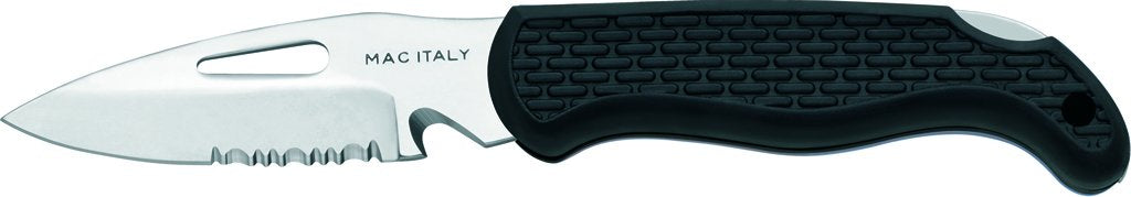 MAC Coltellerie Marine Knife Black - A87B - shackle key
