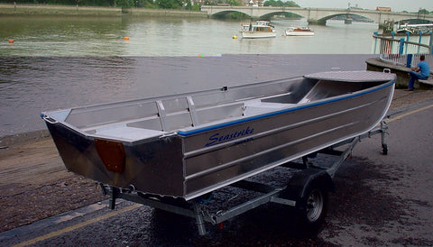 Sea Strike 12 Foot Semi Flat Aluminium Workboat