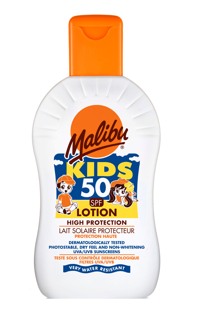 Malibu Sun Protection SPF50 kids lotion – 200ml